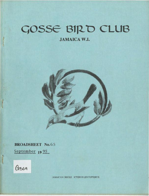 Gosse Bird Club, Broadsheet_No. 65_Sep. 1995.pdf