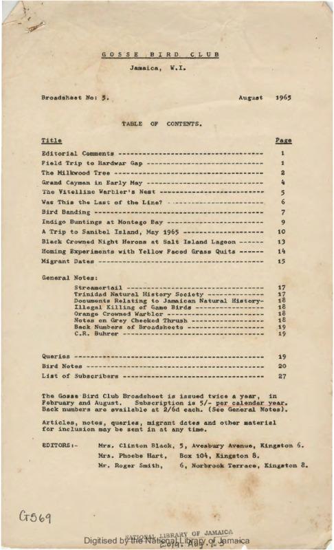 Gosse Bird Club, Broadsheet_No. 5_Aug. 1965.pdf