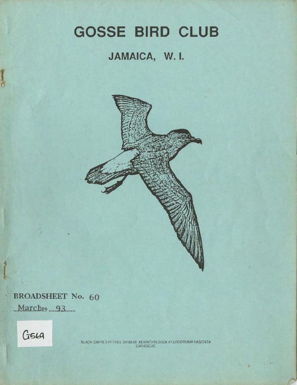 Gosse Bird Club, Broadsheet_No. 60_Mar. 1993.pdf
