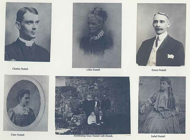 Members of Enos Nuttall's family