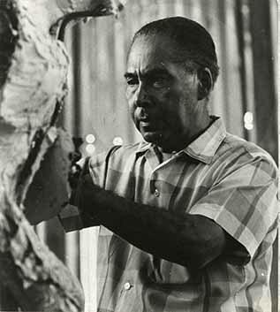 Alvin Marriot at work