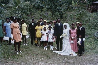 19 Country wedding group, Portland (1971).jpg
