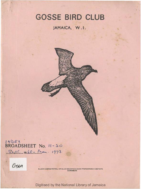Gosse Bird Club, Broadsheet_No. 11-20_Sep. 1968 - Mar. 1973_index.pdf