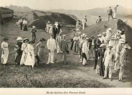 At the Culebra Cut, Panama Canal