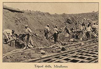 Tripod drills, Miraflores
