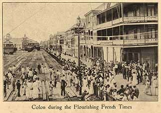 Colon during the flourishing French times