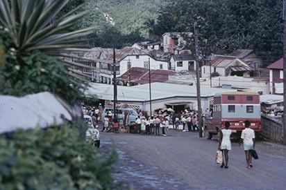 4 Browns Town; road to market, St.Ann (1970).jpg