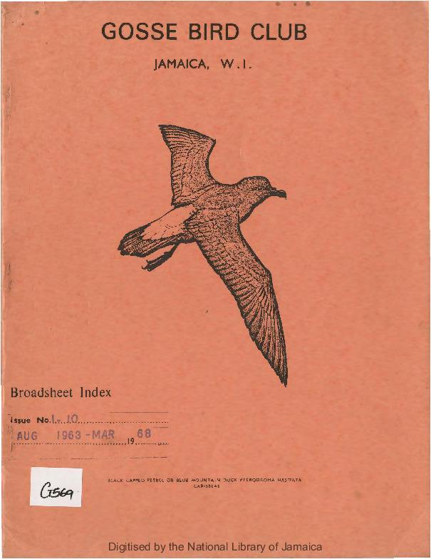 Gosse Bird Club, Broadsheet_No. 1 - 10_Aug. 1963 - Mar. 1968_index.pdf