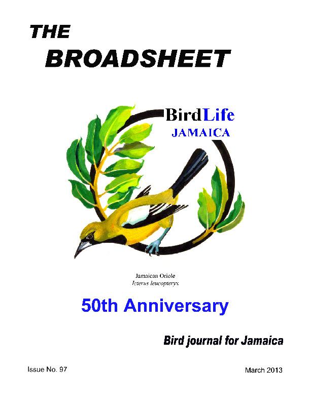 BirdLife Jamaica, Broadsheet_No. 97_Mar. 2013.pdf