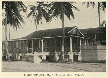 Screened bungalow, Christobal, Colon