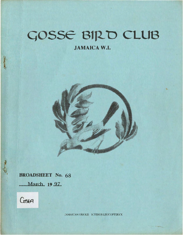 Gosse Bird Club, Broadsheet_No. 68_Mar. 1997.pdf