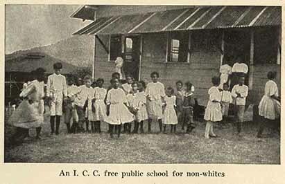 An I.C.C. free public school for non-whites