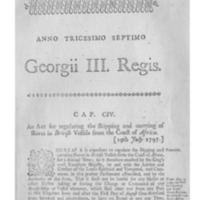 An act for regulating the shipping and carrying of slaves.pdf