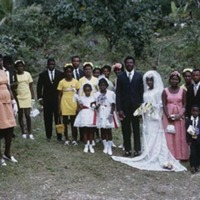 19 Country wedding group, Portland (1971).jpg