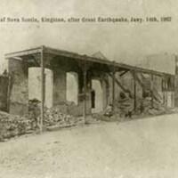 Bank of Nova Scotia after earthquake 1907
