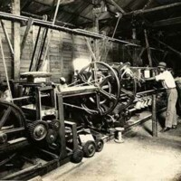 Rope making machinery, Clarendon