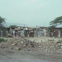 29 Shanty town, West Kingston, from Railway (1978).jpg