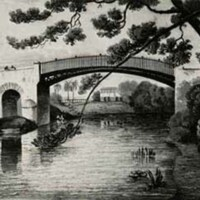 Iron Bridge at Spanish Town by James Hakewill